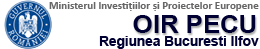 OIR POSDRU Regiunea Bucuresti Ilfov Logo
